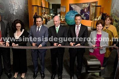 Inauguran en Palacio Nacional la exposiciónMixtecos Ñuu Dzahui. Señores de la lluvia