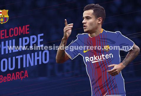 Philippe Coutinho, nuevo jugador del Barcelona