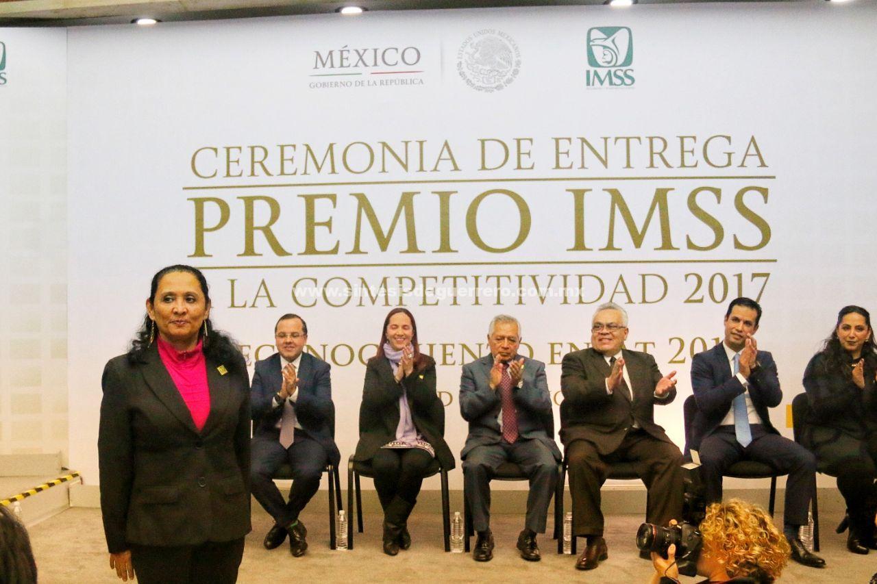 Recibe UMF No 2 reconocimiento por premio IMSS a la competitividad 2017