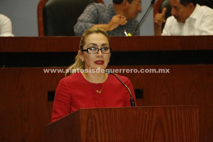 La diputada Érika Alcaraz Sosa propuso reformar diversos ordenamientos legales