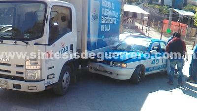 Accidente en Tlapa deja un herido
