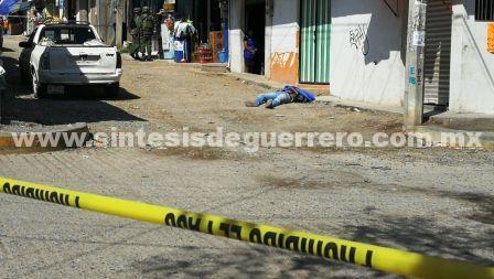 Asesinan a otro hombre en Chilpancingo