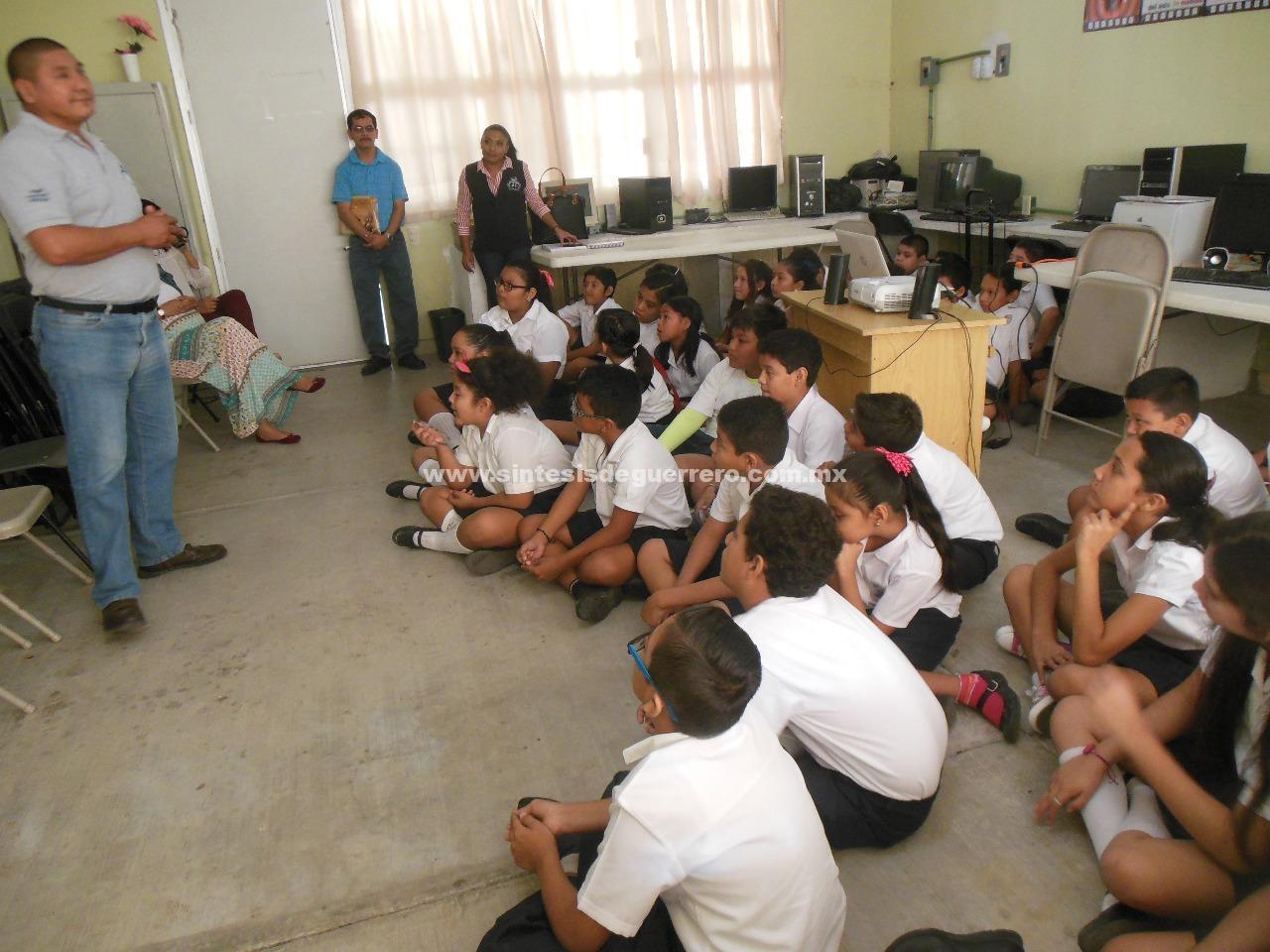 Imparte SSP pláticas en escuelas para prevenir conductas de riesgo