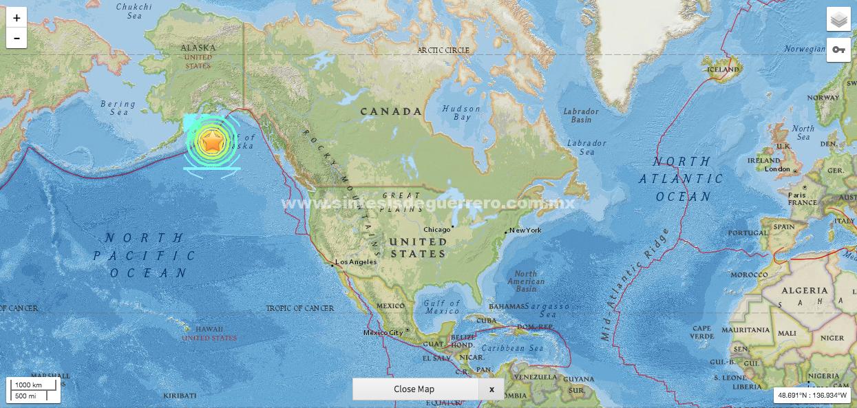 La noche de terremoto de 7.9 y alerta de tsunami en la península de Alaska