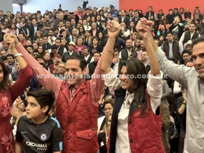 Registran Maloro y Sylvana Beltrones fórmula al Senado por Sonora