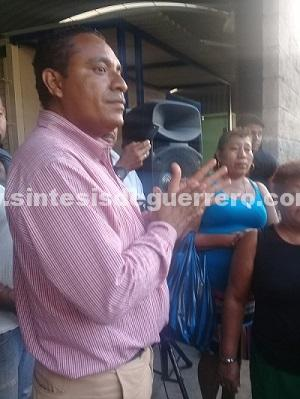 En 2 días se reunirá el diputado Osiel García con los afectados del incendio del 2015 en el mercado de Ayutla