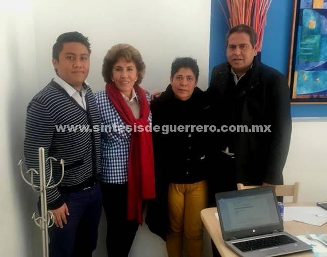 Mercedes Calvo de Astudillo, se reunió en CDMX con integrantes de la fundación World Vision