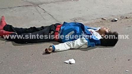 Lo ejecutan en Chilapa, afuera de un bar