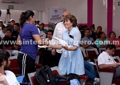 En DIF Guerrero fomentamos los valores a través del deporte: Mercedes Calvo