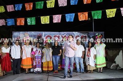 Fomentan Evodio y Perla Edith hermandad entre Acapulco y Oaxaca