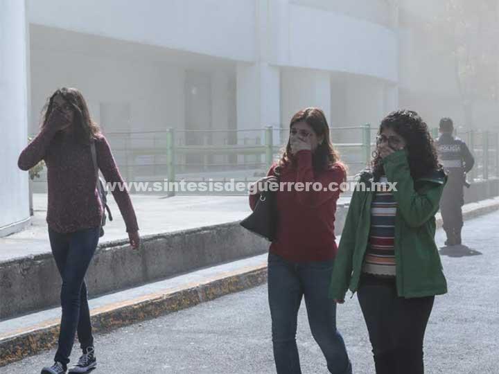 No hay lesionados tras incendio en Plaza Universidad