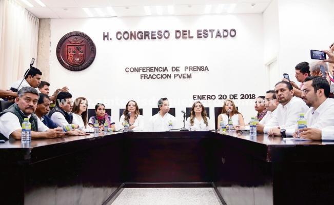Estalla crisis en el PVEM chiapaneco por candidatura