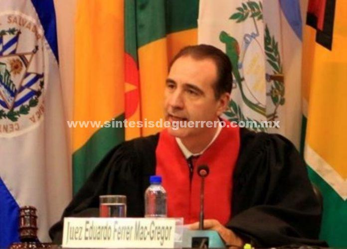 Jurista mexicano preside la Corte Interamericana de Derechos Humanos