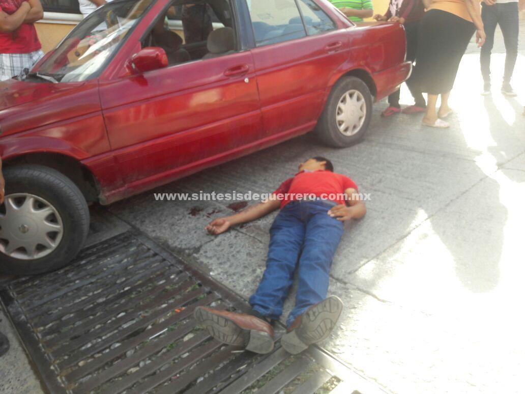 """No cesa la violencia; un muerto y dos """"levantados"""" en Chilpancingo"""