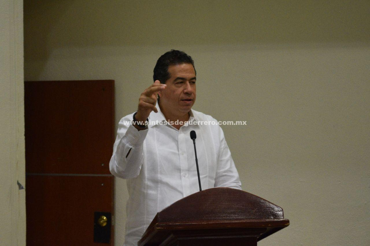 Urge reactivar los servicios públicos de Acapulco: Ricardo Mejía Berdeja