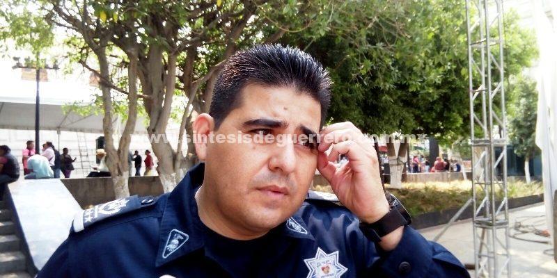 Renuncia jefe de la policía en Chilpancingo