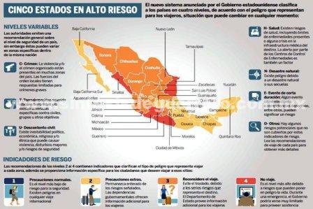 Gobierno de EUA prohíbe a sus ciudadanos viajar a Guerrero
