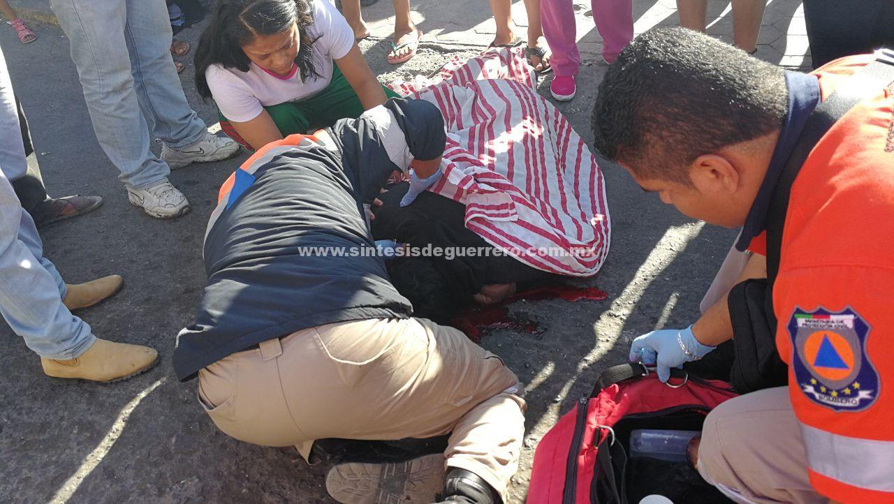 Asesinan a un hombre frente a los terrenos de la Feria, en Chilpancingo