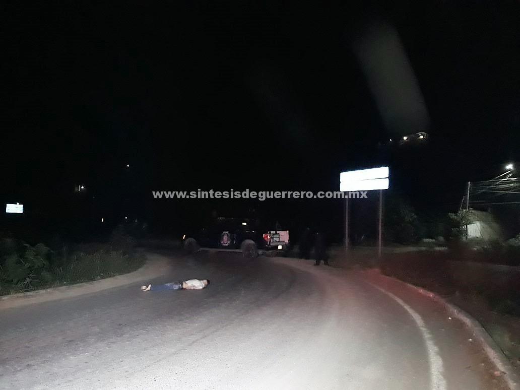 Asesinan a otro hombre en El Coacoyul, Zihuatanejo