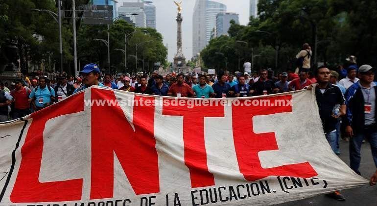 CNTE anuncia marchas en 6 estados del país; demandan 'democratización' del gremio