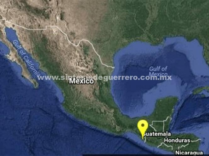 Se registra sismo de 5.1 grados en Chiapas