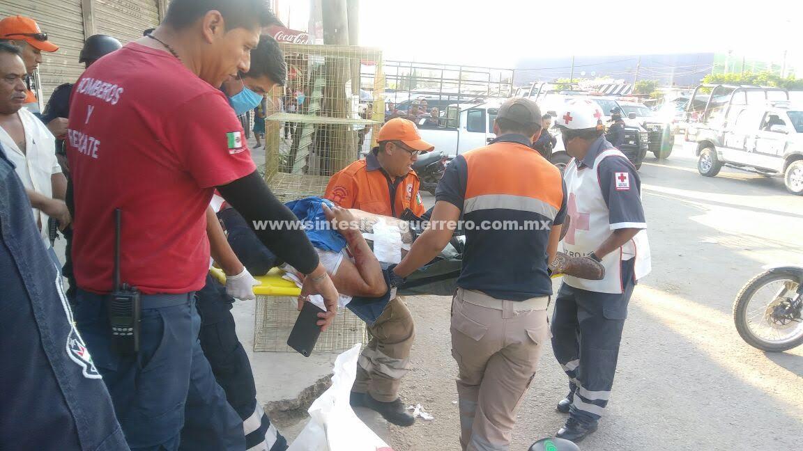 Atacan a balazos a un hombre en Chilapa de Álvarez; queda gravemente herido