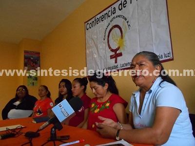 En Chilapa, excluyen a asociación feminista de los diálogos para la AVG