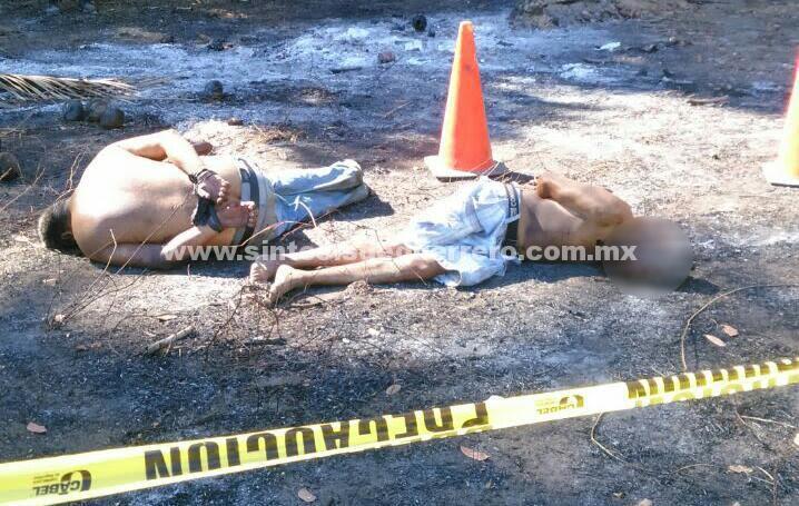 Ejecutan a dos hombres en el poblado La Testaruda, Acapulco