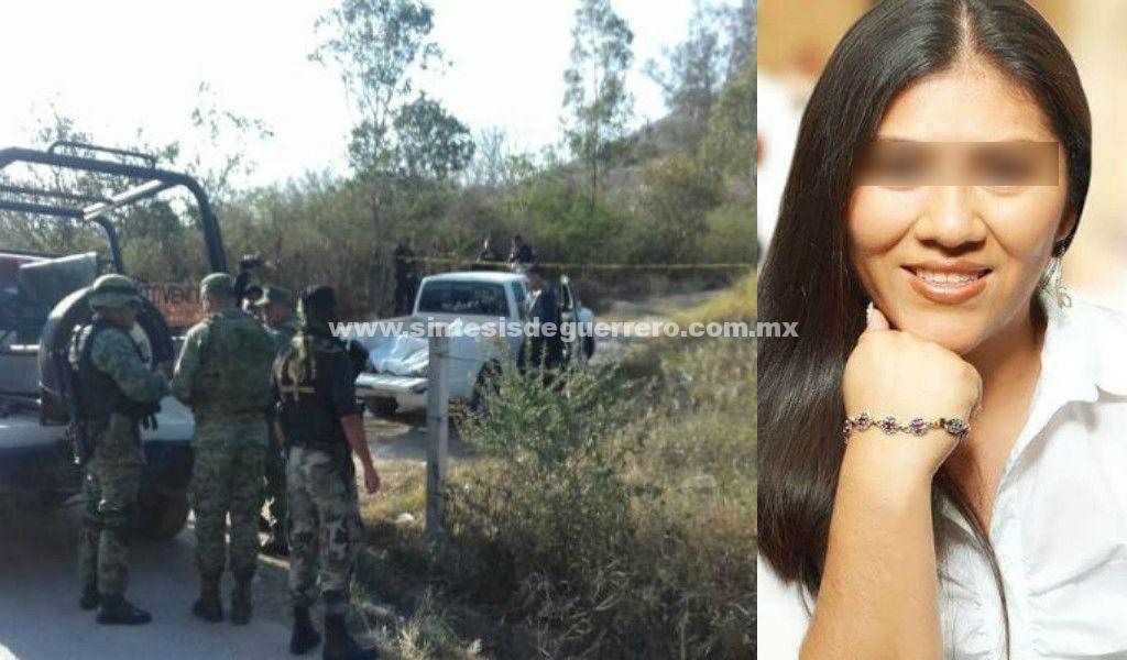 Matan a aspirante a diputada en Chilapa, Guerrero