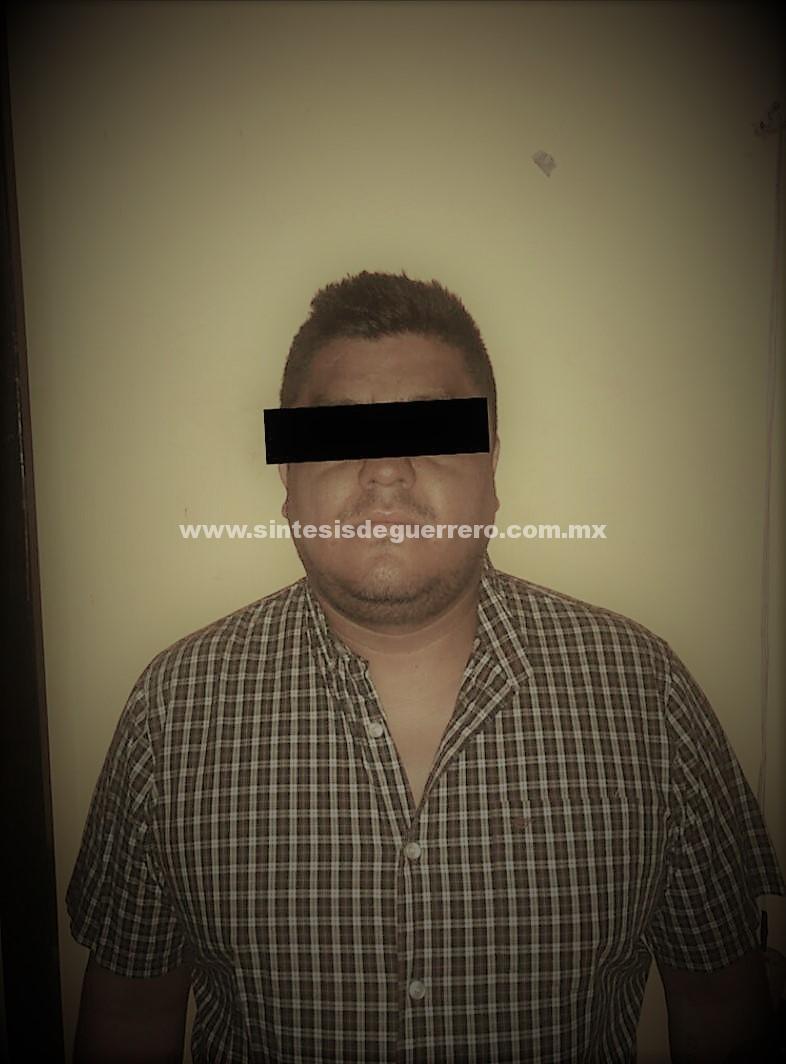 Confirman detención de peligroso lugarteniente de una célula del Cartel del Sur en Chilpancingo