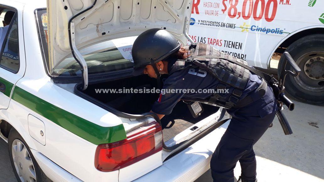 Mantiene Gobierno de Acapulco operativos de seguridad en la Jardín