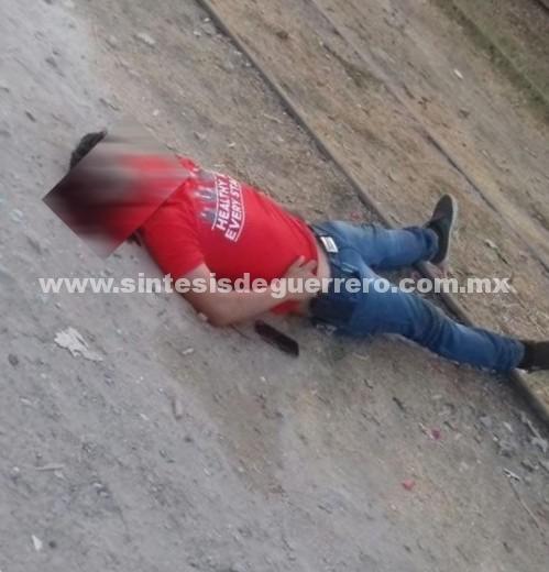 Matan a un joven en las vías del ferrocarril de Iguala