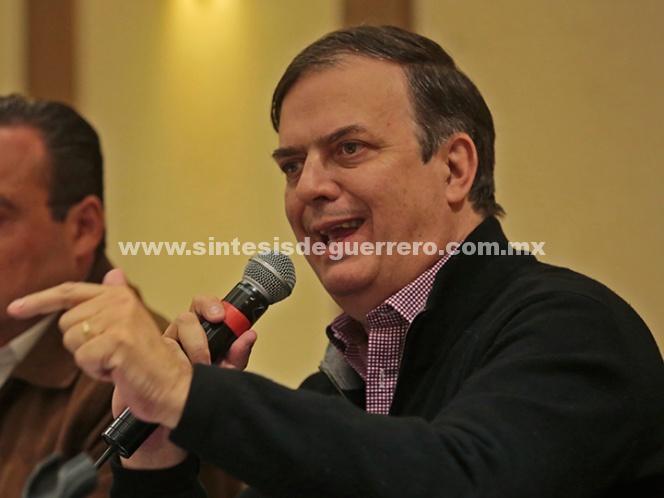 A AMLO ya no lo alcanza nadie: Marcelo Ebrard