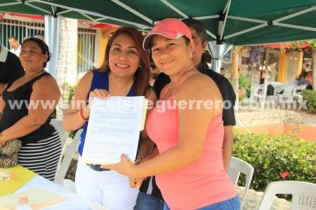 800 Familias beneficiadas con el reordenamiento que realizó la CODUC en Zihuatanejo: Maricarmen Cabrera Lagunas