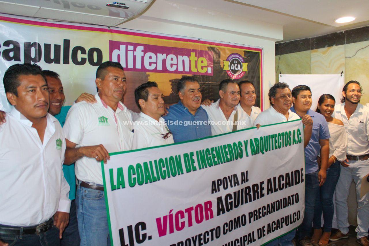 Urge un plan de desarrollo metropolitano para Acapulco, Victor Aguirre Alcaide