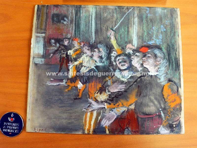 Encuentran cuadro robado de Degas en ¡maletero de autobús!