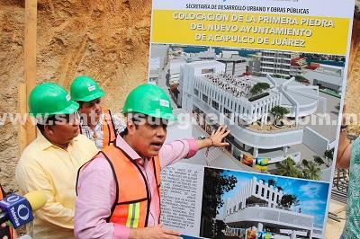 (Video) Supervisa Evodio obra del nuevo edificio del Ayuntamiento