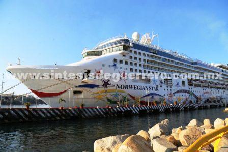Arribó al puerto el crucero número 17 con más de 3 mil personas a bordo