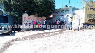 64 niños sin clases en jardín de San Luis en Tecpan