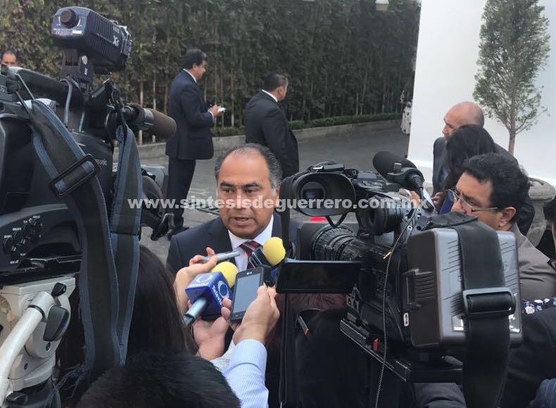 Plantea el Gobernador Astudillo la construcción del C5 en Acapulco al titular de SEGOB, Alfonso Navarrete