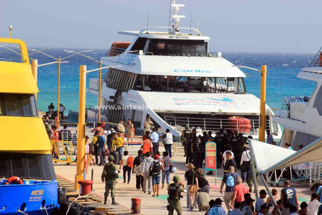SCT suspende operaciones de Barcos Caribe por irregularidades