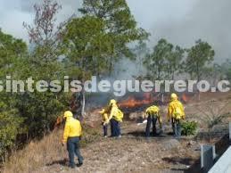 Se han registrado 30 incendios forestales, cifra menor en relación con el 2017: Protección civil