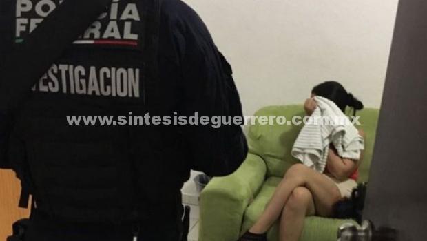 PGR, PF Y SEMAR rescatan a 14 víctimas de trata y aseguran a nueve personas en Acapulco