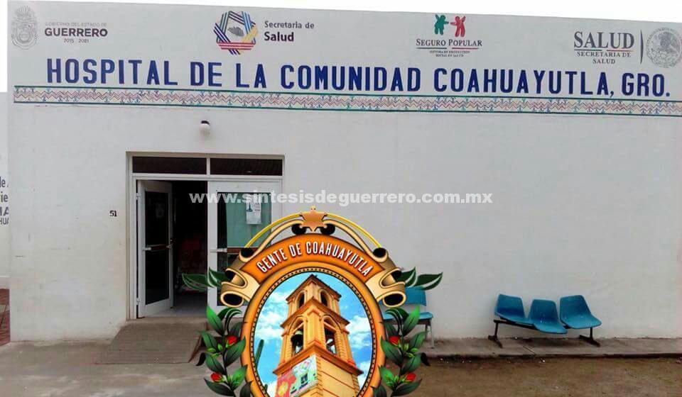 Reportan usuarios graves carencias en hospitales y centros de salud de Costa Grande