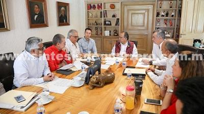 Evalúa gobernador Héctor Astudillo avances en la reconstrucción de Guerrero por daños del 19-s