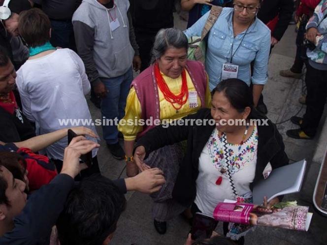 Dan de alta a 'Marichuy' en La Paz