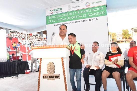 Guerrero va a seguir siendo prioridad para federación, afirmó el titular de la CONADE, Alfredo Castillo