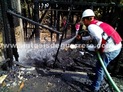 Participación de la ciudadanía y Protección Civil en el combate de incendios en el municipio de Mártir de Cuilapan, crucial en la presente temporada: Maximino Barrios Lázaro