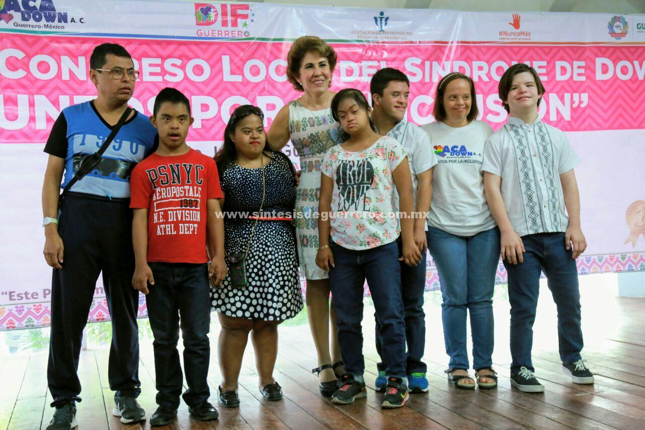 """Inaugura Mercedes Calvo el segundo Congreso local del Síndrome de Down """"Juntos por la Inclusión"""""""