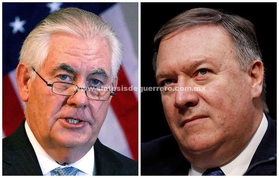 Despide Trump a su secretario de Estado, Rex Tillerson